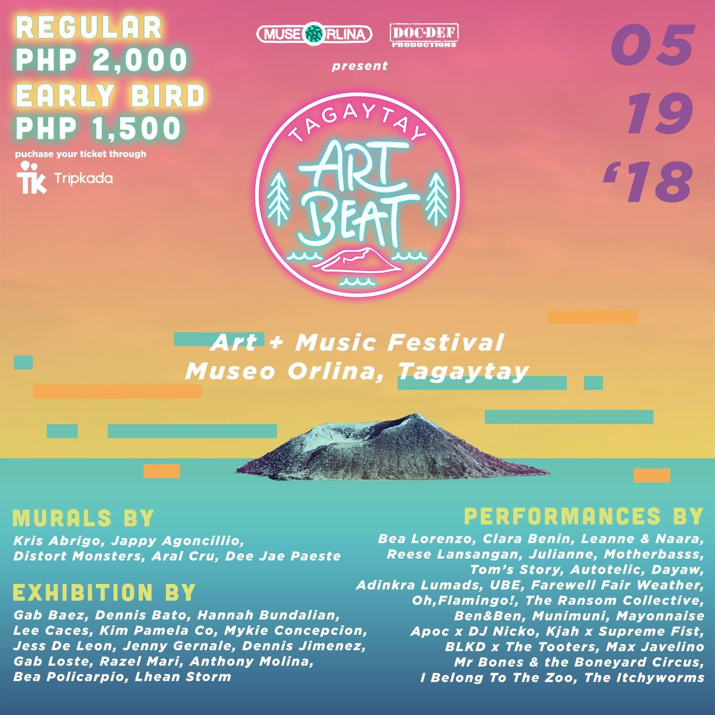 APR 19 – Tagaytay Art Beat 3 – PURVEYR